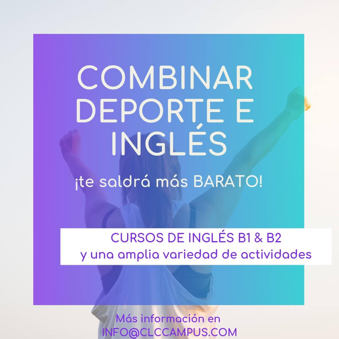 Combinar Inglés y Deporte