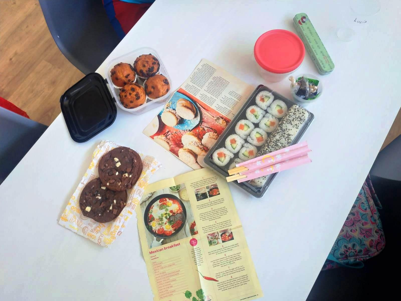 Aprendemos recetas en inglés